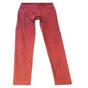Cranberry-Colored Outdoor Voices Leggings